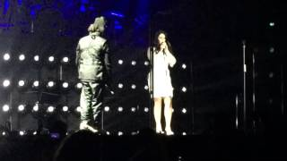 "The Weeknd and Lana Del Rey ""Prisoner"" live at the Forum 12/9/15"