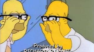 Simpsonovi česky Homer a brýle