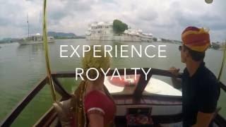 Taj Lake Palace in Udaipur India
