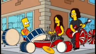 Bart y los White Stripes - The Hardest Button To Button