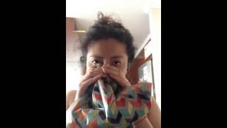 Técnica de la respiración con bolsa para calmar la ansiedad 2 de 4 vídeos