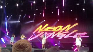 Neon Jungle - Louder 22/06/14 North East Live