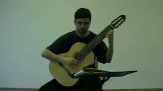 Lou Harrison - Serenade - Just Intonation / Microtonal Guitar - Tolgahan Çoğulu