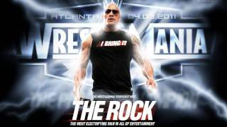 The Rock Theme Song 2011 (Arena Effect) with Crowd