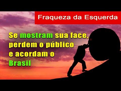 A Fraqueza da Esquerda: Se ela mostra sua verdadeira face, perdem o público e acordam o Brasil