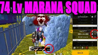 74 level marana squad|| Free fire Top indain players tournament|| Run Gaming Tamil