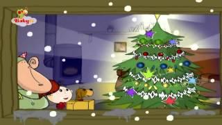 Yoyo y Darwin decoran el árbol de Navidad   BabyTV Español