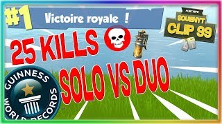 NOUVEAU RECORD DE KILL VALIDÉ PAR UN TOP 1 SUR FORTNITE BATTLE ROYALE // Clip #99