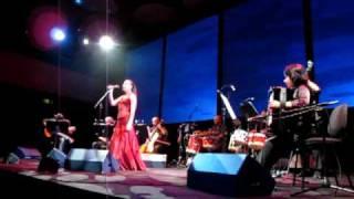 Milanesiana 2010  - Tereza Salgueiro e Lusitânia Ensemble - prima parte