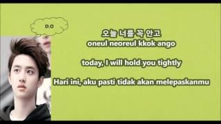 EXO - For Life with Malay | Eng | Han | Rom lyrics