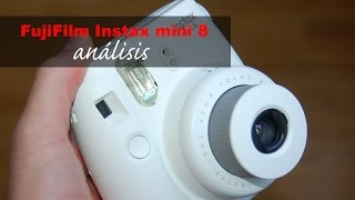 Fujifilm Instax mini 8 review (en español)