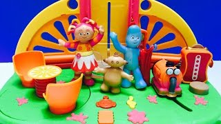 IN THE NIGHT GARDEN Toys Visit Teletubbies House!