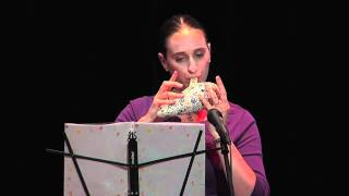"Mononoke Hime ""Princess Mononoke Theme""  on STL BWP Bass Ocarina (Live)"