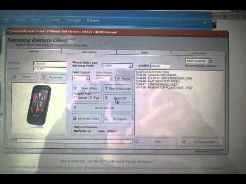 SRS: howto Remove Simlock of Samsung GT-C3300K