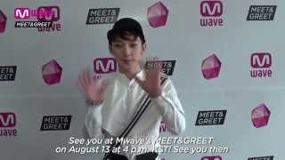 [Exclusive Teaser & Giveaway] Get to Know ZEST's CHIWOO at Mwave's MEET&GREET