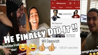 "WILODIA "" 1 MILLION SUBS For WIL "" ( Hurayy !!)"