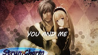 You and Me - Lifehouse (StrumCharm acoustic cover) lyrics in CC