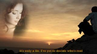 The Bee Gees-Wish You Were Here (lyrics)