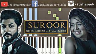 How To Play Suroor on Piano - Suroor Bilal Saeed feat Neha Kakkar Piano Tutorial & Piano Lesson
