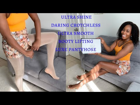 Unboxing/Trying On Luxe My Body Pantyhose