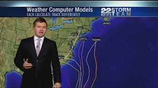 The latest track on Hurricane Joaquin