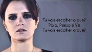 Carolina Deslandes Pára, Pensa e Vê Letra