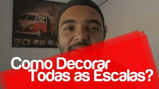Como Decorar Todas As Escalas - Marcel Viana