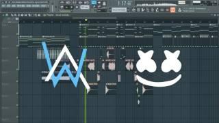 Alan Walker - Sing Me To Sleep (marshmello Remix) [Remake + FLP]