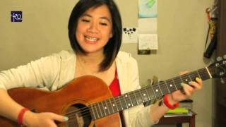 Belajar Akustik Gitar (Terlalu Manis - Slank) width=