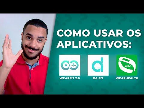 Conexão CORRETA com os aplicativos WEARFIT 2.0 / DA FIT / WEARHEALTH