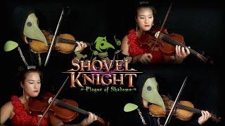Shovel Knight - Plague of Shadows: Tango of the Troupple King - Violin + Viola Cover || mklachu