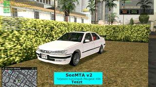 SeeMTA v2-Fullos Peugeot 406 Teszt
