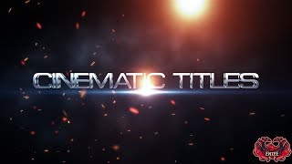 Free After Effects Intro Template #16 : Cinematic Trailer Titles Intro Template for After Effects