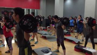 BODY PUMP 99 LAUNCH with : KENNY,JOSEPH,THEO & RIO TRACK 2