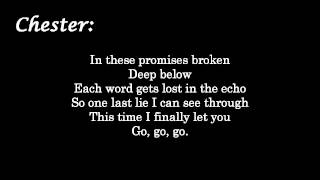 Linkin Park - Lost In The Echo [Lyrics on screen] HD