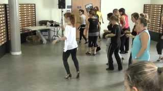 Festival sals'Attitude 4 - Workshop de Lady Style inter par Aude Michon - www.salsa-guide.fr