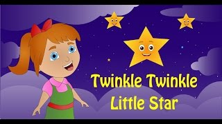 Twinkle Twinkle Little Star Rhyme with Lyrics/Nursery Rhymes Songs For Children/By CHAMPU KIDS