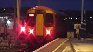 Gatwick Express Class 387 205-387 203-387 227 Departure Brighton for London Victoria