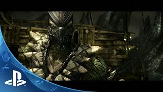 Mortal Kombat X: Reptile Official Trailer | PS4, PS3