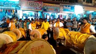 Shiv malhar puneri dhol tasha pathak bhayandar east