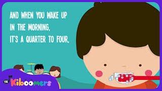 Brush Your Teeth Song | Kids Song | Nursery Rhyme | Song Lyrics | The Kiboomers