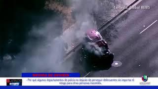 CONOZCA LOS RIESGOS DE LAS PERSECUCIONES POLICIACAS