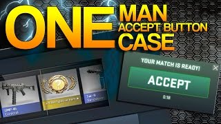 CS:GO - One Man, One Accept Button, One Case