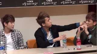 [Fancam] 130317 Vixx(빅스) - Ken's freestyle rap feat. Ravi's beatboxing, LOL!!