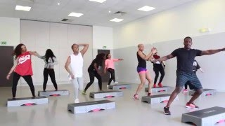 New training AFRO STEP by YFit Coaching !