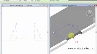 Como hacer una rampa en una acera en revit