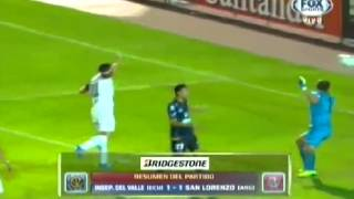 Copa Libertadores: Independiente José Terán 1-1 San Lorenzo (Tomado de Fox Sport)