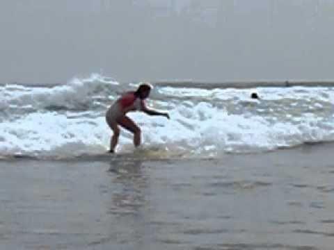 Surf Nicaragua Playa Maderas Surf Break Beach 1