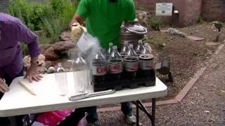 Forget Diet Coke and Mentos, we have Diet Coke and liquid nitrogen