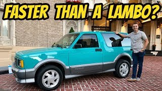 I Bought the Cheapest Teal GMC TYPHOON in the USA, and It's Faster than a FERRARI!